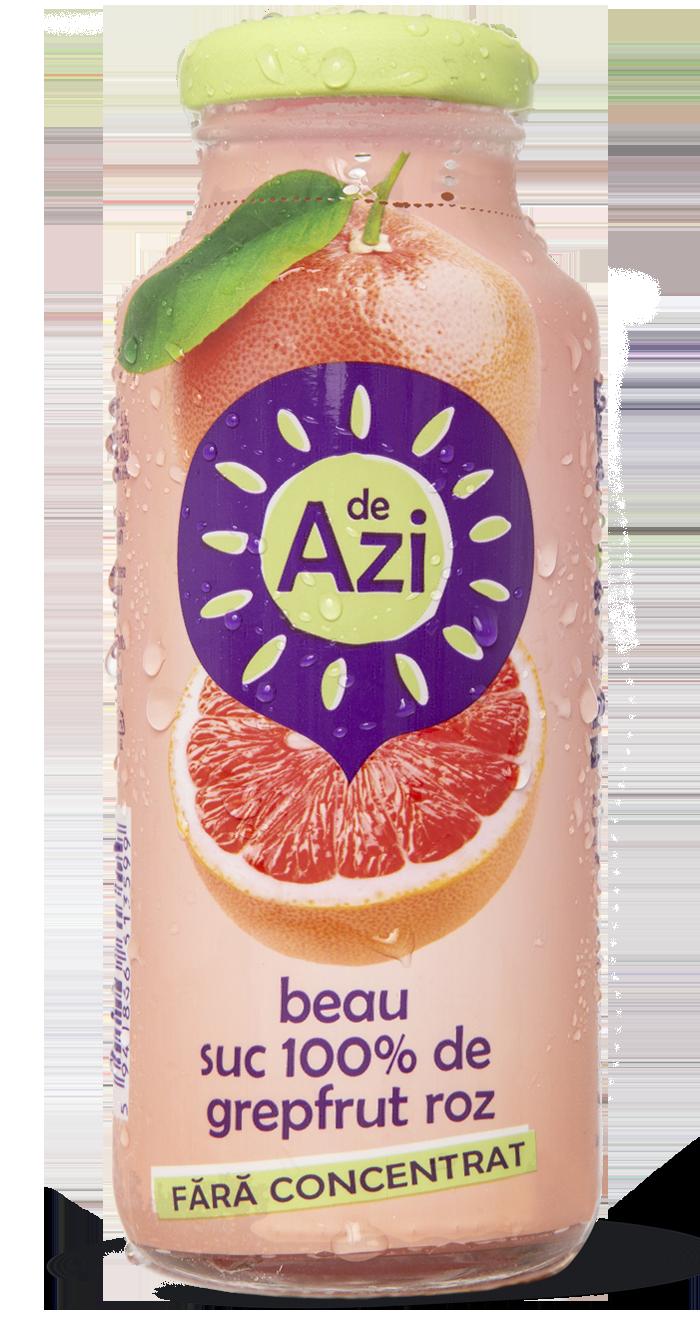 Suc de grepfrut roz